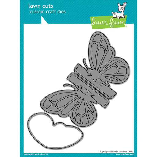 Lawn Cuts Custom Craft Die - Pop-Up Butterfly