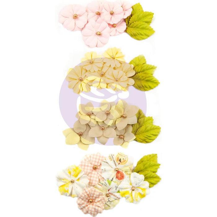 Prima Marketing Mulberry Paper Flowers - Lime Peel/Fruit Paradise