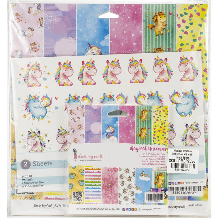 Dress My Crafts Collection Kit - Magical Unicorn
