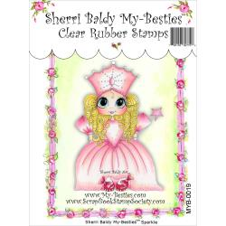 "My Besties Clear Stamps 4""X 6"" Sparkle -MYB-0019"