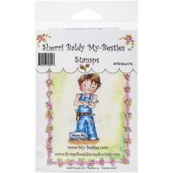 "My Besties Clear Stamps 4""X 6"" Handy Man - MYB-0016"