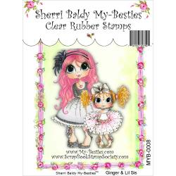 "My Besties Clear Stamps 4""X 6"" Gill and Lil Sis - MYB-0008"