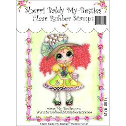 "My Besties Clear Stamps 4""X 6"" Maddie Hatter - MYB-0013"