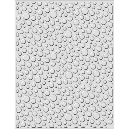 "Bubble Burst Creative Expressions 3D Embossing Folder 5.75""X7.5"""