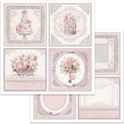 "Stamperia Double-Sided Cardstock 12""X12"" Wedding Cards"