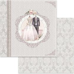 "Stamperia Double-Sided Cardstock 12""X12"" Ceremony"