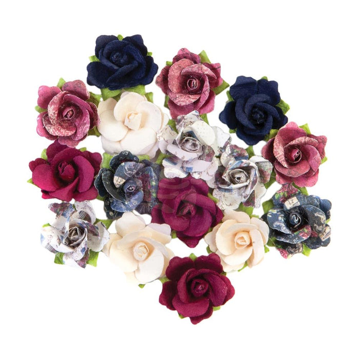 Prima Marketing Mulberry Paper Flowers - Memories Recovered/Darcelle