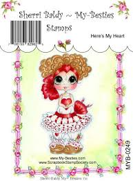 "My Besties Clear Stamps 4""X 6"" Here's My Heart - MYB-0249"