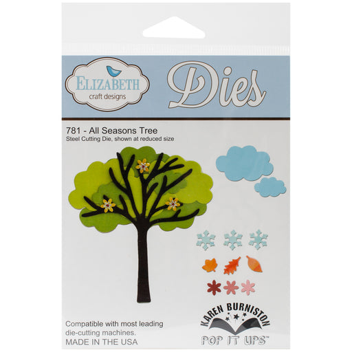 Elizabeth Craft Designs 781 All Seasons Tree