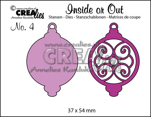 Inside or Out No.4 - Christmas Ornament D