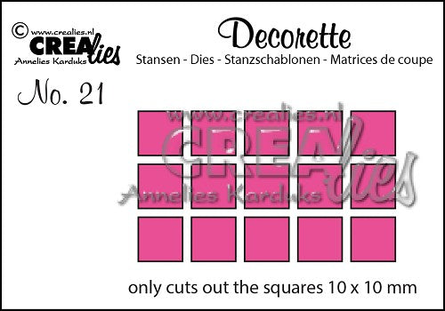Decorette No.21 - Only Squares