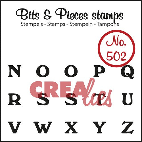 Bits & Pieces stamp no. 502 N-Z