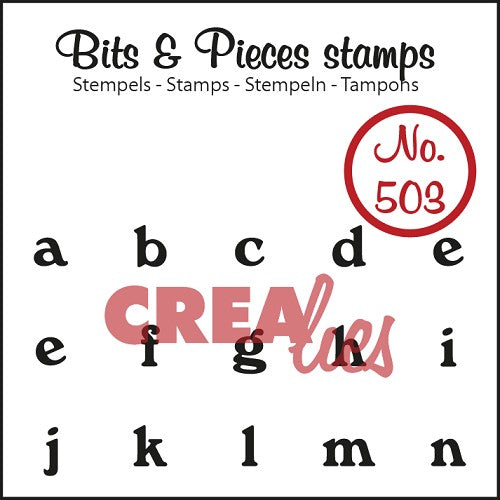 Bits & Pieces stamp no. 503/504 a-z