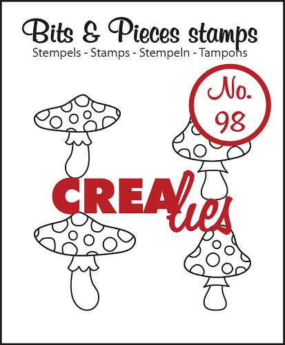 Bits & Pieces stamp no. 98 Mushrooms