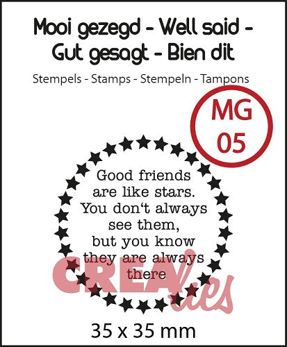 Well Said - Stamp No.5