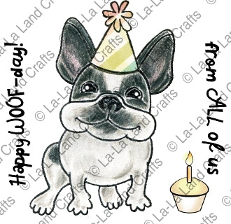 La-La Land Craft - Birthday Frenchie