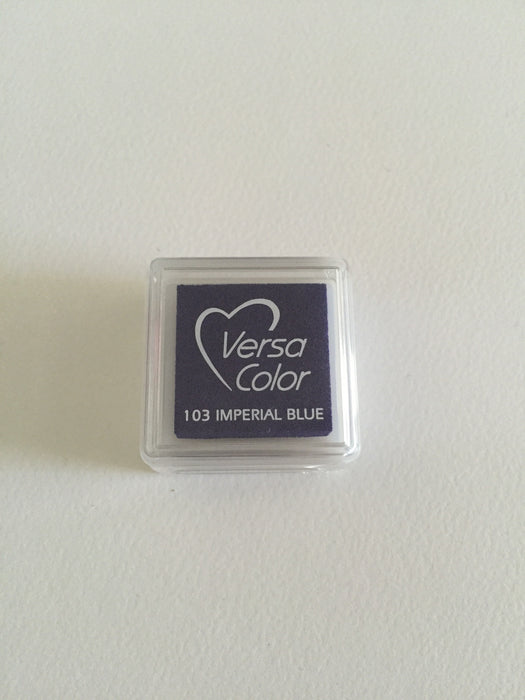 TSUKINEKO Versa Color Mini inkpad 103 Imperial Blue