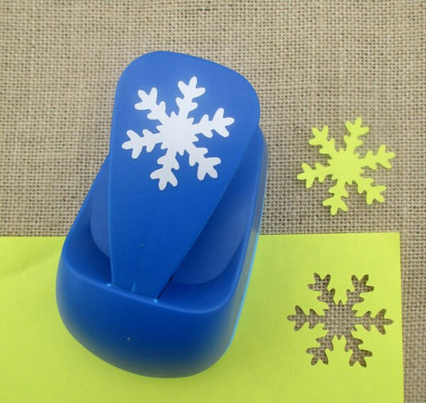 "Craft Punch 3/8"" Snowflake"