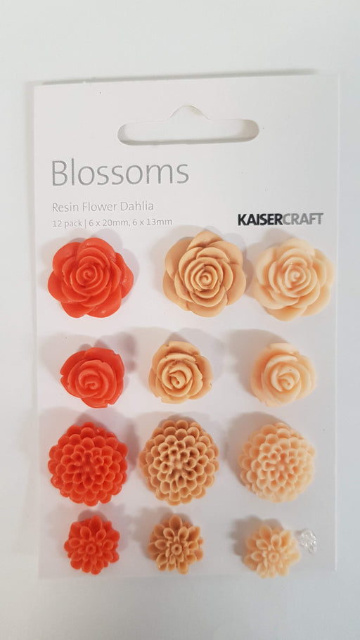Kaisercraft Resin Flower Dahlia EM696