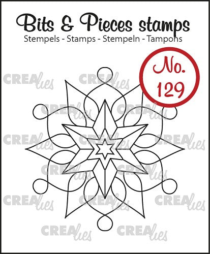 Bits & Pieces No.129 - Snowflake A