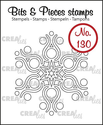 Bits & Pieces No.130 - Snowflake B