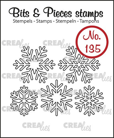 Bits & Pieces No. 135 - 5x Snowflake