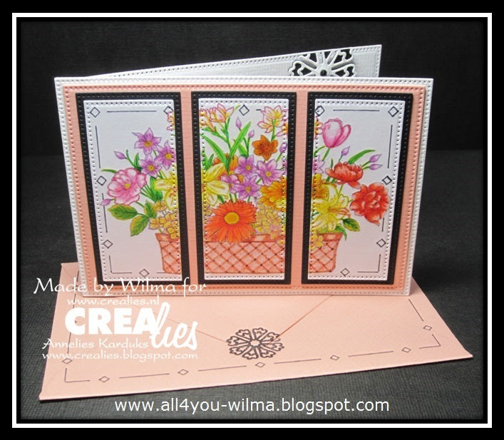Set of 3 punches no. 55, Flowers 24