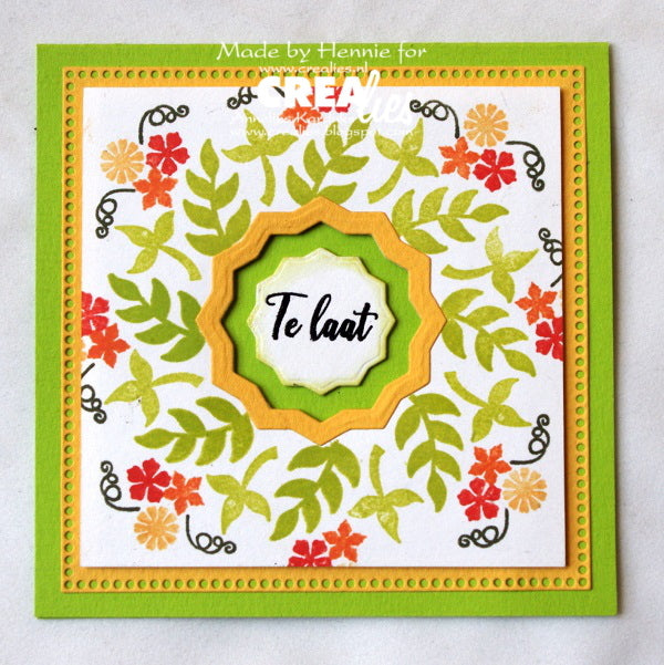 Bits & Pieces stamp no. 150, 6x Mini leaves 5 (closed)