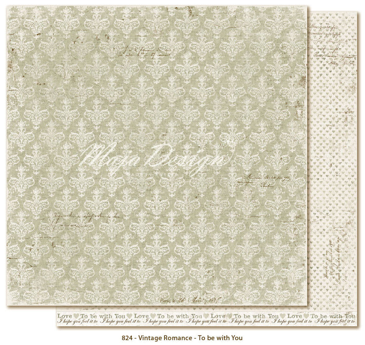 "MajaDesign 12""x12"" Vintage Romance Collection The with you VIN-824"