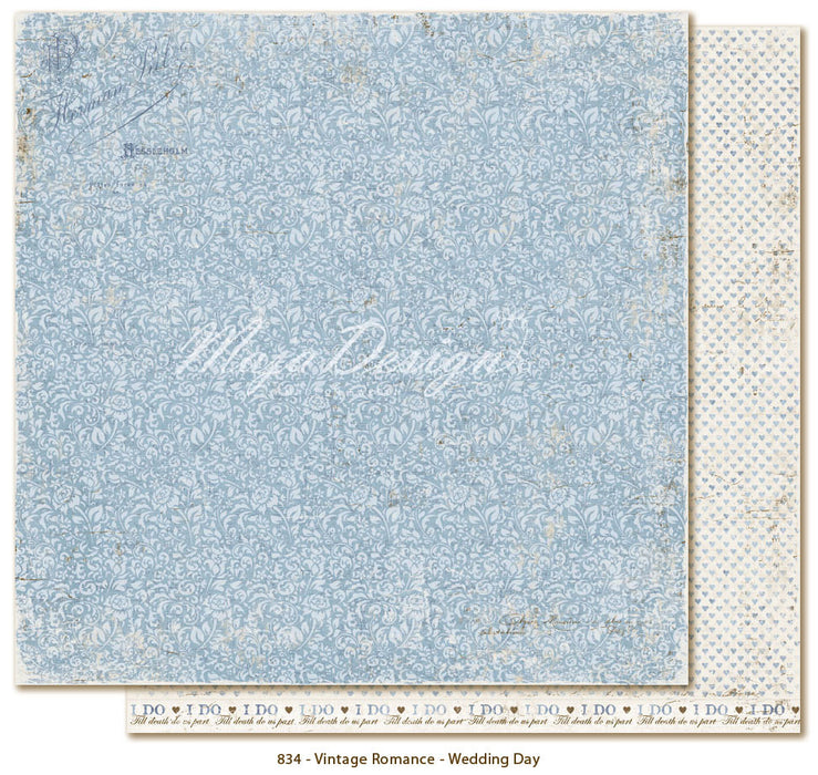 "MajaDesign 12""x12"" Vintage Romance Collection Wedding Day VIN-834"