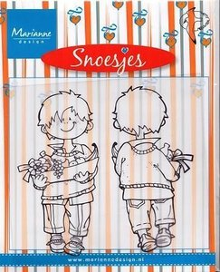 Marianne Design - Shoejes Get Well Soon