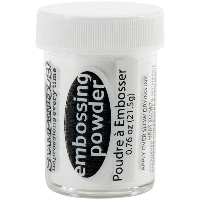 Stampendous Embossing Powder Detail White DP100