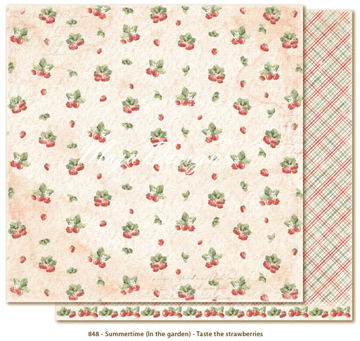 Maja Design Summertime Taste the strawberries 848