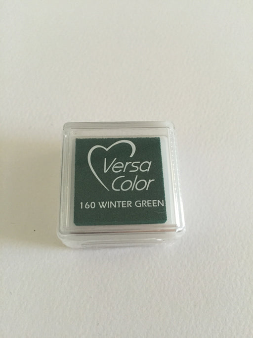 TSUKINEKO Versa Color Mini inkpad 160 Winter Green