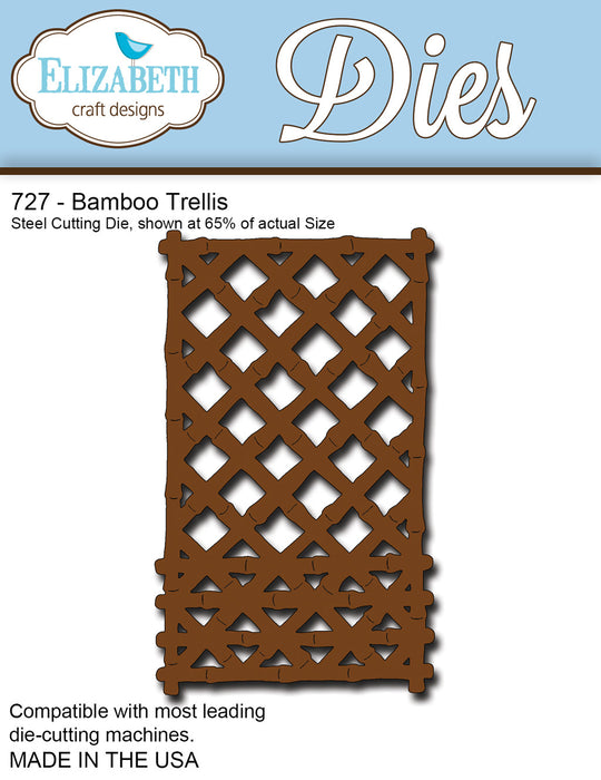Elizabeth Craft Designs 727 Bamboo Trellis