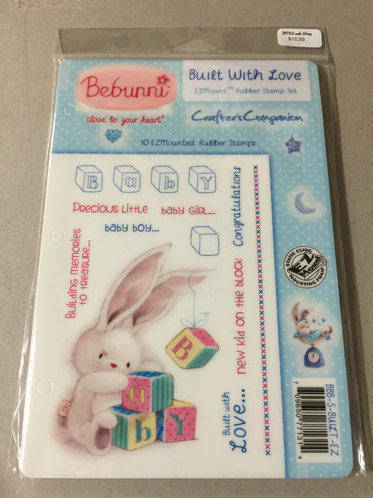 Stamp Built With Love Bebunni