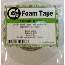 Crafts4U 12mm x 50m Double Sided Tape