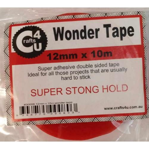Crafts4U 12mm x 10m Wonder Tape