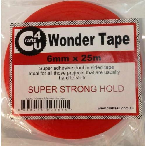 Crafts4U 6mm x 25m Wonder Tape