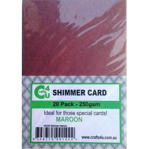 Crafts4U A5 Card Shimmer
