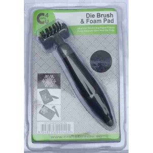 Crafts4U Die Brush Tool and Foam Pad 10071