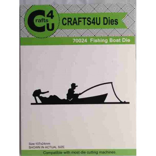 Crafts4U Die Fishing Boat
