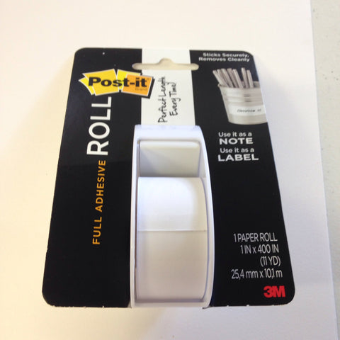 Post-it Full Adhesive Roll White