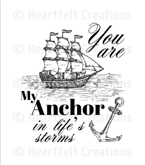 My Anchor Stamp