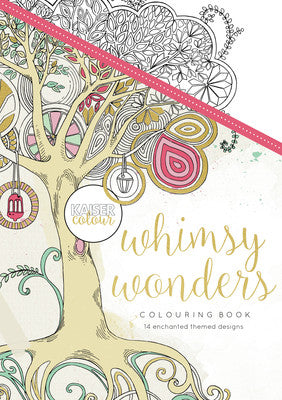 Kaisecraft Colouring Book CL501 Whimsy Wonders