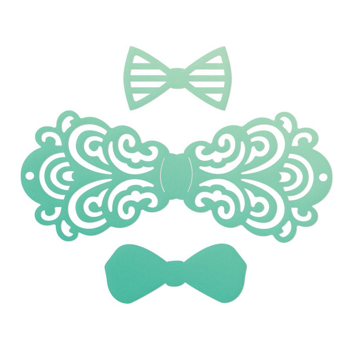 Mini Die - Gentlemans Emporium - Filigree Bow Tie Set (3p)