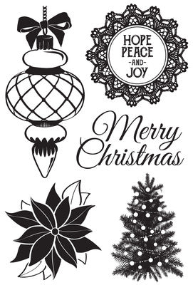 Kaisercraft Christmas Whishes Clear Stamp CS270