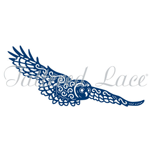 Tattered Lace Die  Barn Owl D1057