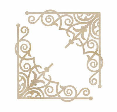kaisercraft Wooden Flourishes Intricate Corners FL510