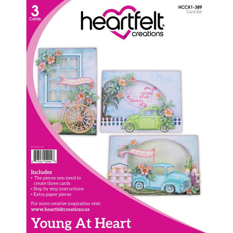 Heartfelt Creations Young At Heart Card Kit  HCCK1-389